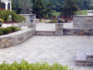 Brick Pavers - www.elysianhomeimprovement.com | Retaining Walls | Patios | Walkways | Firepit | Custom Paver Designs